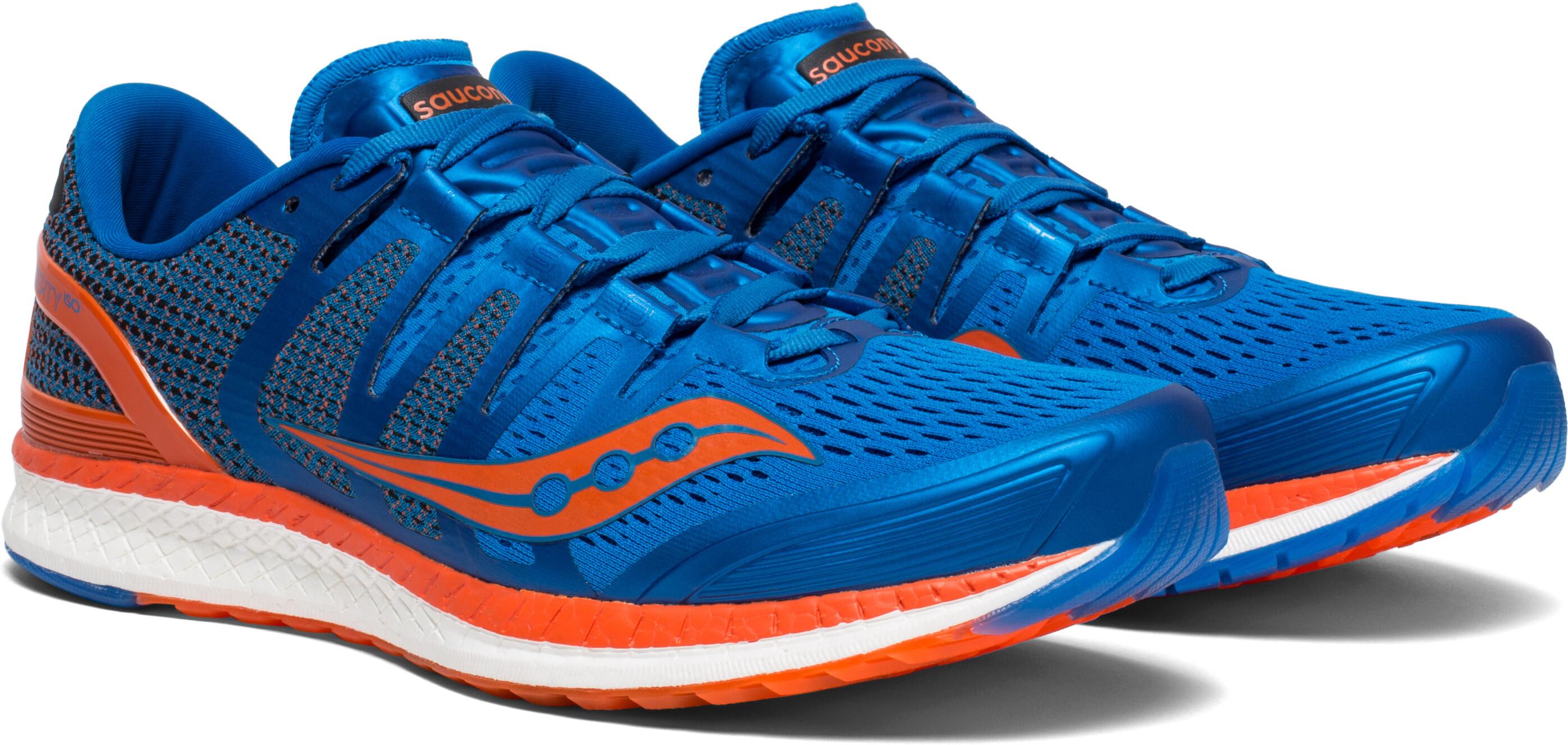 saucony Liberty ISO scarpe da corsa Uomo arancione blu su Bikester 853046f979a